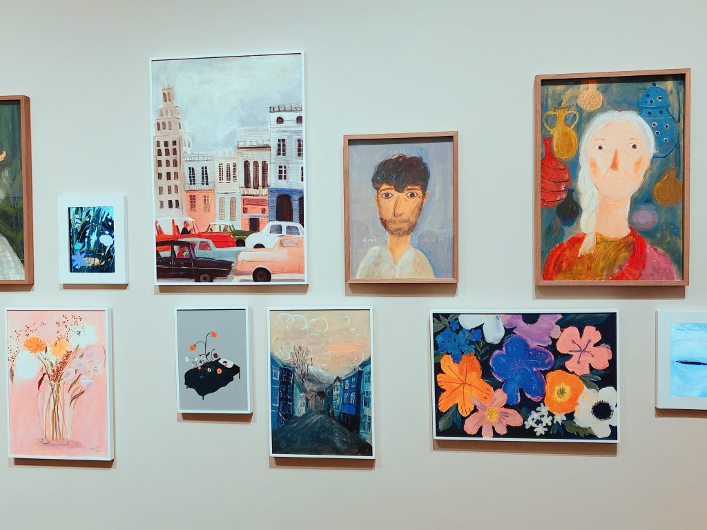 オシャレな現代アートが気軽に楽しめる/D MUSEUM